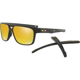 Oakley Crossrange Patch Sunglasses Matte Black/24K Iridium